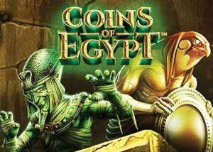 Der Coins of Egypt Slot, spiele mit den ägyptischen Göttern
