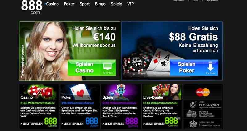 paypal casino 888