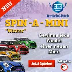 drückGlück spin a mini