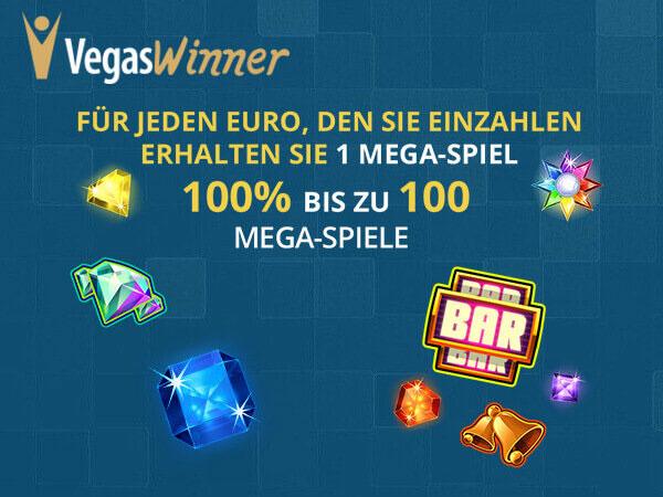 vegasWinner Onlinecasino Bonus