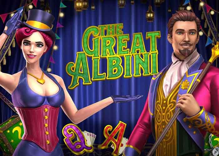 Der The Great Albini Slot, ein magisches Spektakel