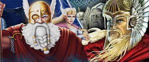 Wikinger Slots, Thunderstruck II gegen Asgard